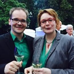 Grant Hendrik Tonne mit Staatssekretärin Daniela Behrens